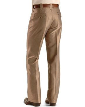 Circle S Men's Swedish Knit Snap Ranch Dress Pants, Khaki, hi-res