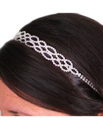 Silver Strike Women's Rhinestone Headband, , hi-res