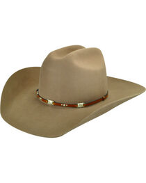 Bailey Men's Jericho 3X Wool Felt Cowboy Hat, , hi-res