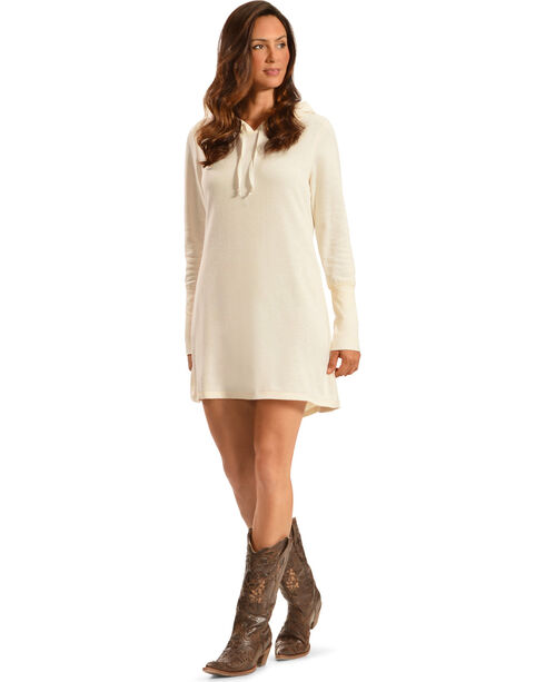 Others Follow Women's Aliza Tunic Dress, Cream, hi-res