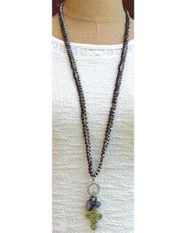 InspireDesigns Women's Silver Cloud Nine Convertible Necklace , , hi-res