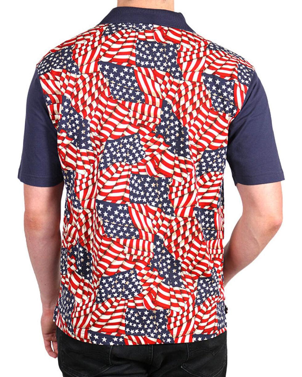 Cody James® Men's Americana Polo, Navy, hi-res