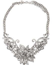 Shyanne® Women's Floral Necklace, , hi-res