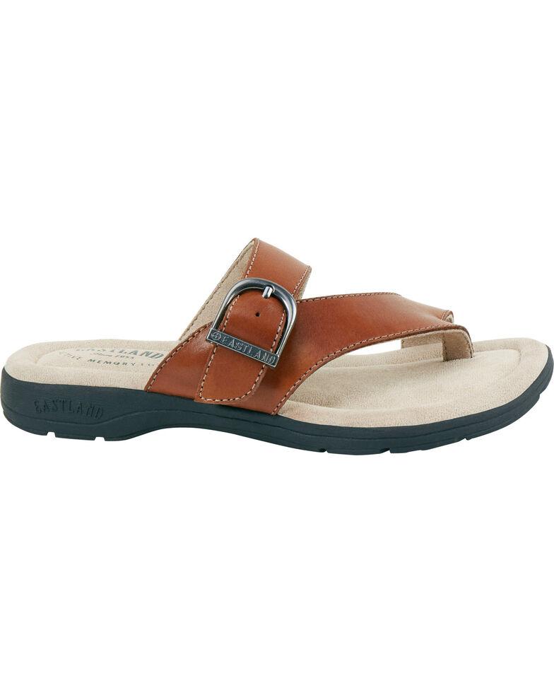 0dbe1d3c3077 Eastland Women s Tan Tahiti II Thong Sandals