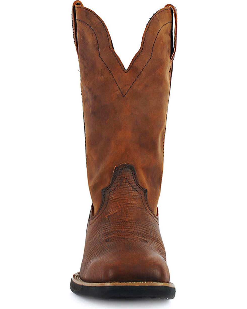 Cinch Men's WRX Flame Resistant Work Boots, Rust Copper, hi-res