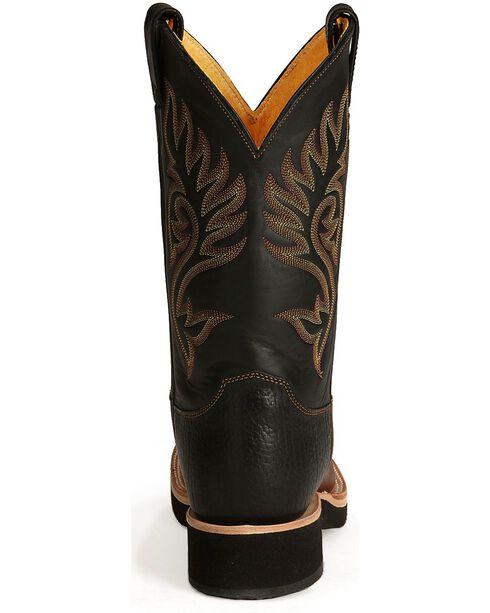"Justin Men's 11"" Tekno Crepe Western Boots, Coffee, hi-res"