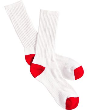 Boot Doctor Youth Over the Calf Boot Socks - 3 Pack, White, hi-res