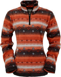 Outback Trading Co Women's Jessamine Fleece Henley, , hi-res