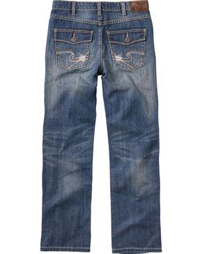 Silver Boys' Benny Straight Leg Jeans - 8-16, Denim, hi-res
