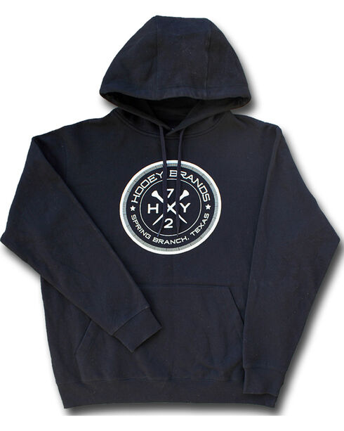Hooey Men's Black Nail Hoodie, Black, hi-res