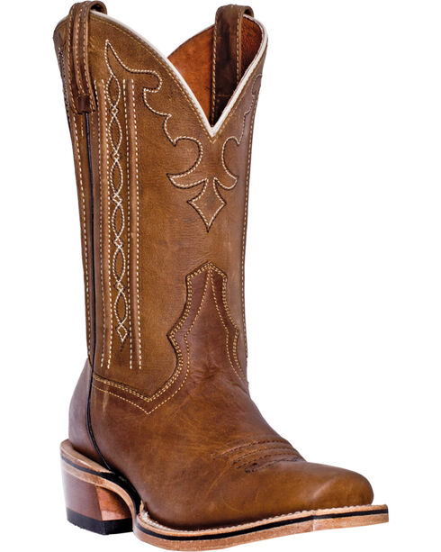 Dan Post Men's Spritzer Wesern Boots, Tan, hi-res