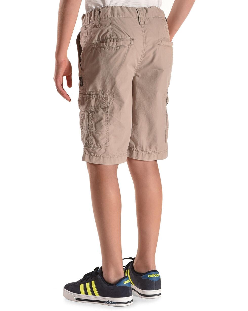 Silver Boys' Six Pocket Cargo Shorts, Grey, hi-res