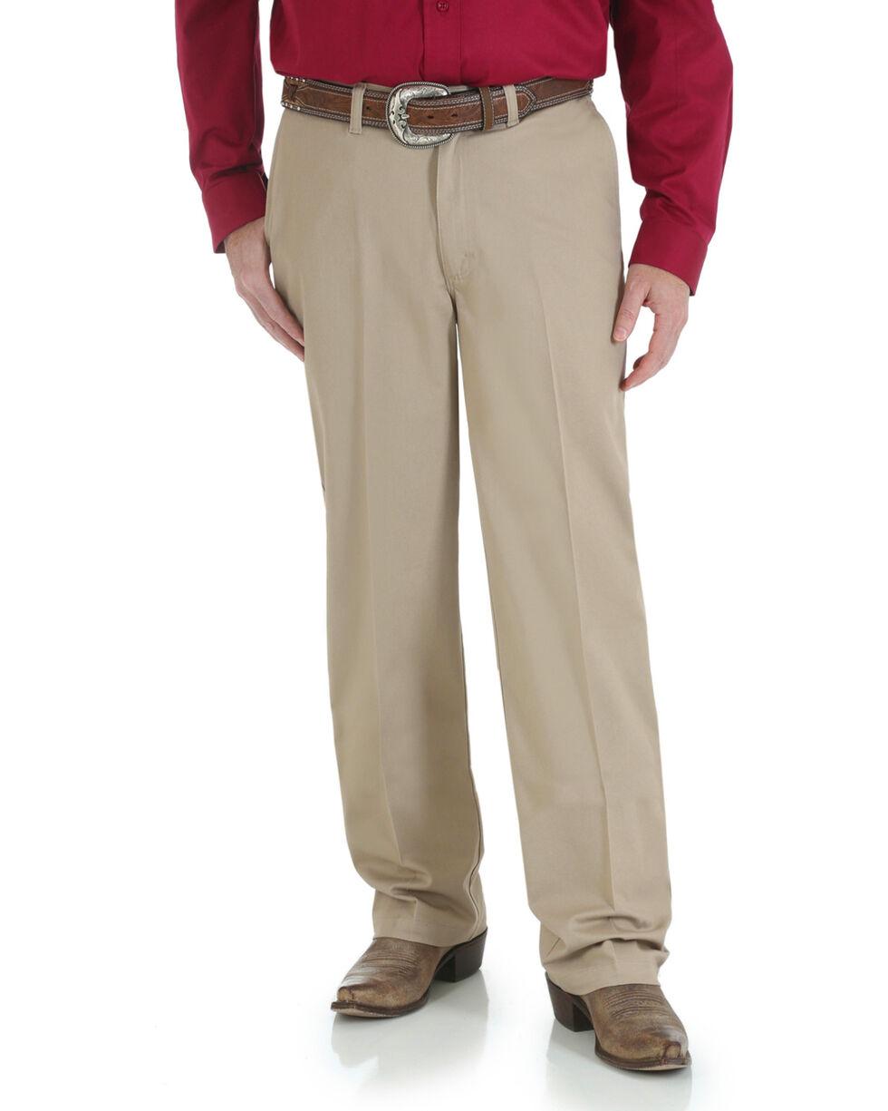 Wrangler Men's Riata Advanced Comfort Pants, Khaki, hi-res