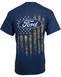 Buck Wear Men's Ford Camo Flag Tee, , hi-res