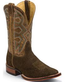 Nocona Men's Let's Rodeo Hippo Print Western Boots, , hi-res