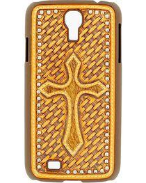 Nocona Basketweave Cross Galaxy S4 Case, , hi-res