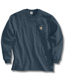 Carhartt Men's Long Sleeve Work T-Shirt, , hi-res