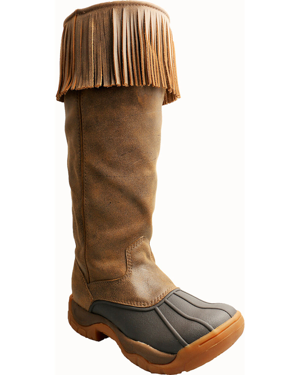 Twisted X Women's Bomber Boots, Brown, hi-res