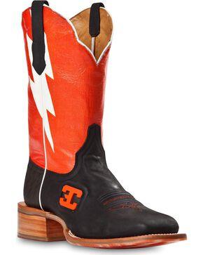 Cinch Men's Bolt Western Boots, Black, hi-res
