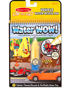 Melissa & Doug Kids' Water WOW! Vehicle Travel Activity, No Color, hi-res
