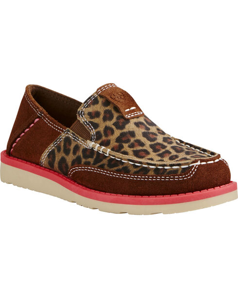 Ariat Kids' Cruiser Shoes, Cheetah, hi-res