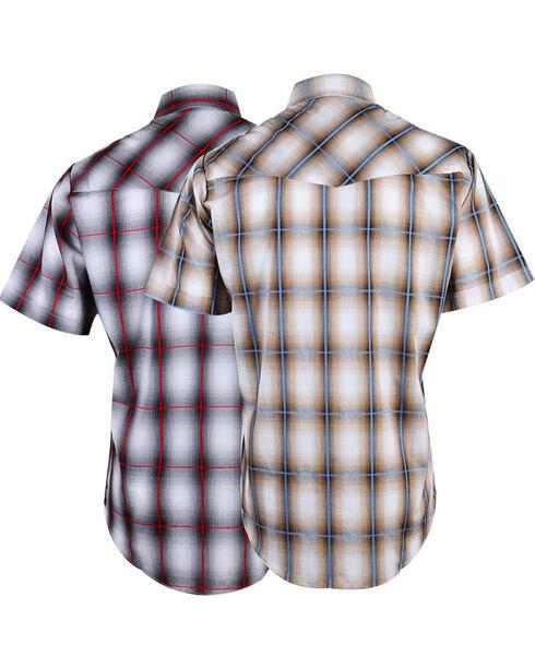 Ely Cattleman Men's Plaid Assorted Short Sleeve Shirt, , hi-res
