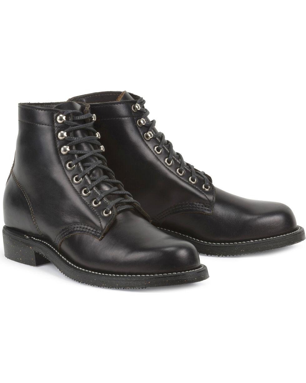 Chippewa Men's 1939 Original Service Boots - Round Toe, Black, hi-res