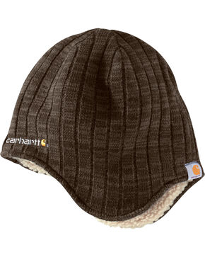 Carhartt Men's Akron Beanie, Brown, hi-res