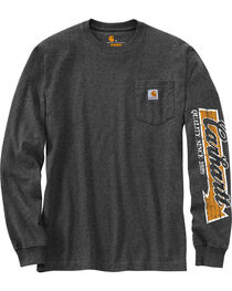 Carhartt Men's Workwear Graphic Carhartt Way Long-Sleeve T-Shirt - Big and Tall , , hi-res