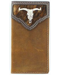 Nocona Belt Co Youth's Horse Hair Wallet, , hi-res