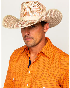 Cody James® Men's 20X Straw Hat, Natural, hi-res