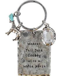 Shyanne® Women's Wanted Cowboy Keychain, , hi-res