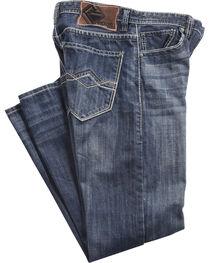 Rock & Roll Cowboy Men's Blue Cannon Jeans - Straight Leg , , hi-res