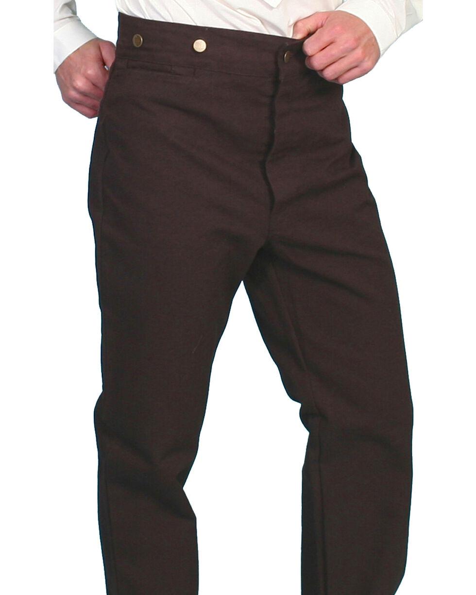 Scully Men's Canvas Pants, Walnut, hi-res