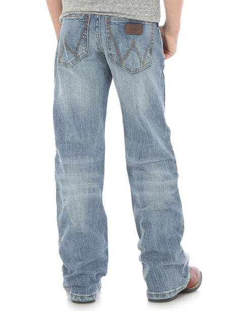Wrangler Boys' (4-7) Indigo Retro Relaxed Fit Jeans - Boot Cut , Indigo, hi-res