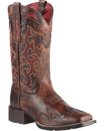 Ariat Sidekick Cowgirl Boots - Square Toe, , hi-res