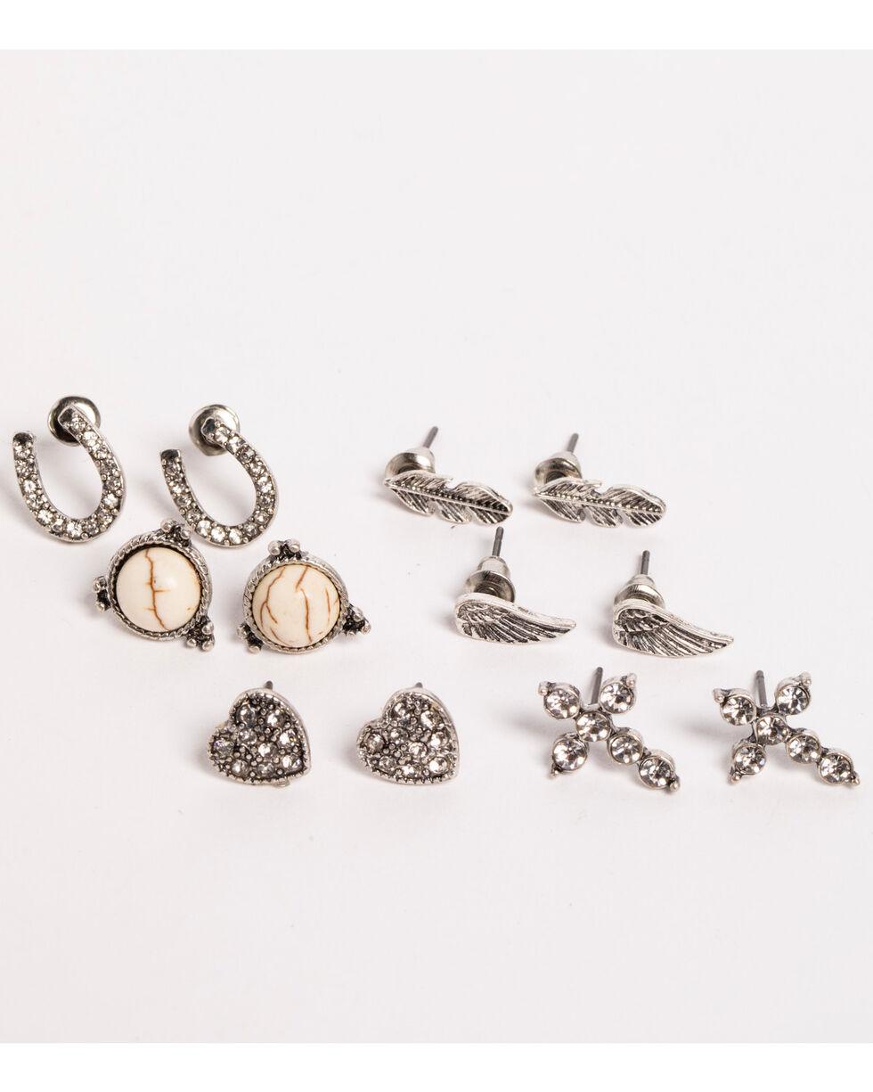 Shyanne® Women's Variety Earring Set, Silver, hi-res