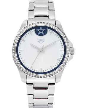 Jack Mason Women's Dallas Glitz Sport Watch , Silver, hi-res