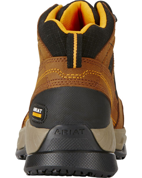 Ariat Women's Contender Steel Toe and EH Rated Work Shoes, Brown, hi-res