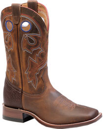 Boulet Laid Back Tan Spice Cowgirl Boots - Square Toe, , hi-res