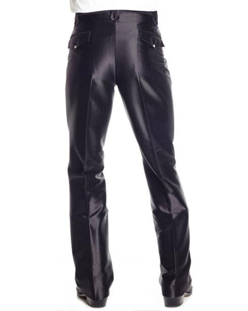 Circle S Men's Swedish Knit Snap Ranch Dress Pants, Black, hi-res