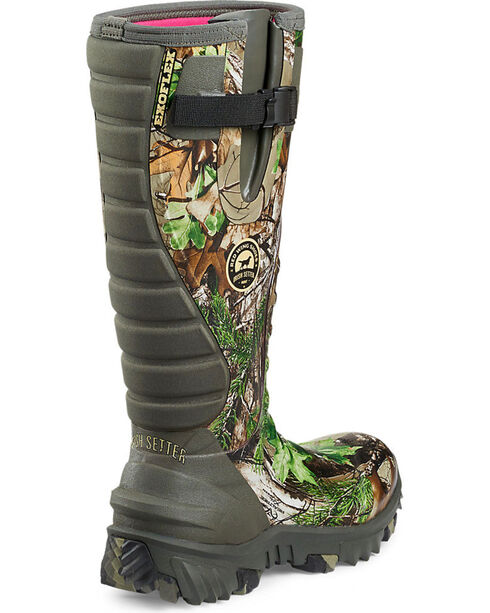 Irish Setter by Red Wing Shoes Women's Rutmaster Realtree Xtra Green Camo Rubber Boots , Camouflage, hi-res