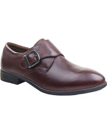 Eastland Women's Brown Farrah Monk Strap Slip-Ons , , hi-res