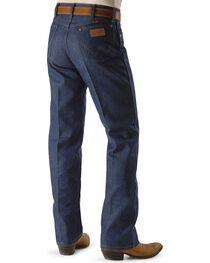 """Wrangler Men's Original Fit Rigid Jeans - 38"""" & 40"""" Tall Inseams, , hi-res"""