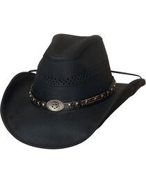 Bullhide Get On Top Grain Leather Hat , , hi-res