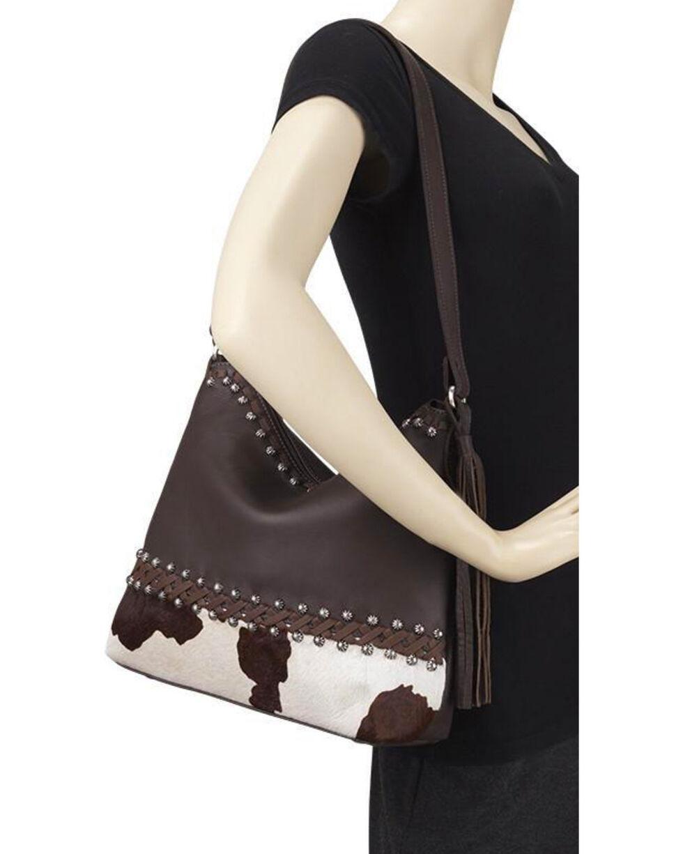 American West Women's Wild Horses Shoulder Handbag , , hi-res