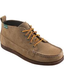 Eastland Men's Khaki Suede Seneca Camp Moc Chukka Boots, , hi-res