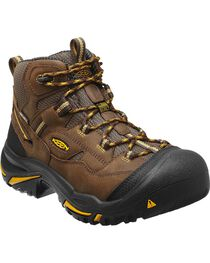 Keen Men's Braddock Mid Waterproof Boots - Steel Toe, , hi-res