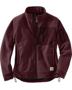 Carhartt Women's Kentan Jacket , Wine, hi-res