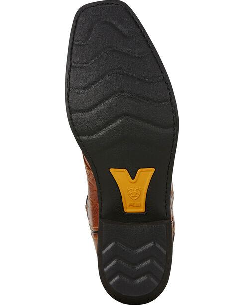 Ariat Men's Heritage Roughstock Western Boots, Tan, hi-res